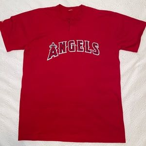 LOS ANGELES ANGELS OF ANAHEIM MLB Henley T-Shirt